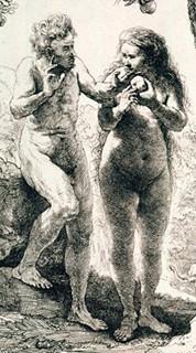 Adão e Eva - Tela deRembrandt